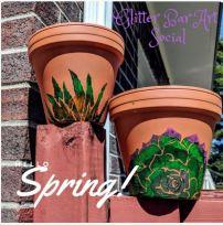 succulent pots class